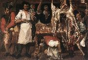 CARRACCI, Annibale Butcher's Shop oil painting picture wholesale